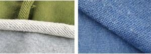3 thread fleece knit fabric